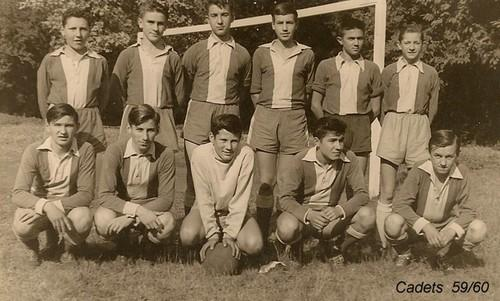 Equipe Cadets (1959-1960) photo C. Horala Internat Saint Casimir