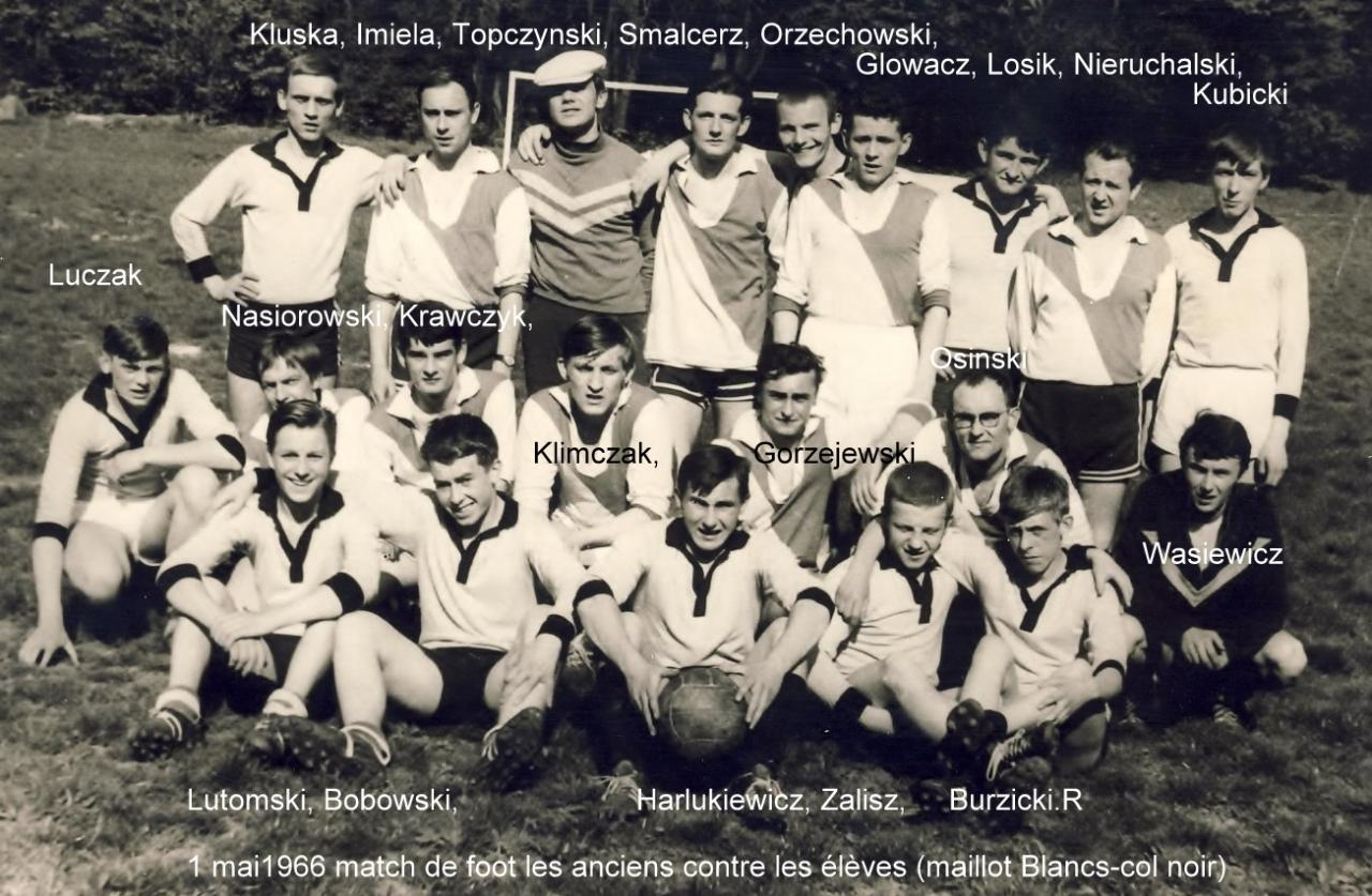 1° mai 1966, match foot- élèves vs anciens (photo C.Lukasiewicz) 2