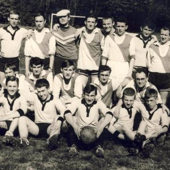 ° mai 1966, Match Elèves vs Anciens. photo C. Lukasiewicz