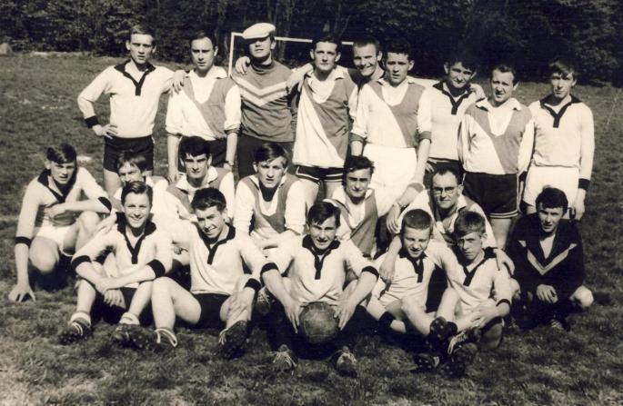 ° mai 1966, Match Elèves vs Anciens. photo C. Lukasiewicz