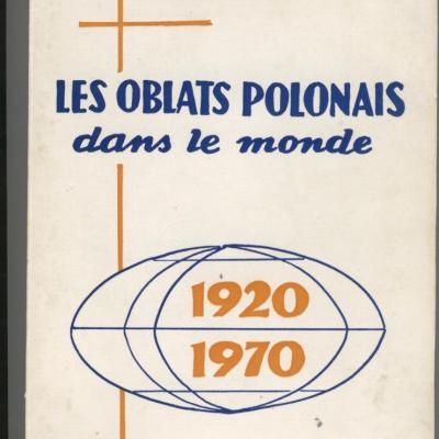 Oblats 1920-1970