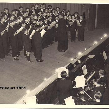 1951 Ostricourt Salle Saint Stanislas