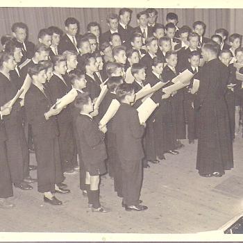 1951 Ostricourt Salle Saint Stanislas Chorale