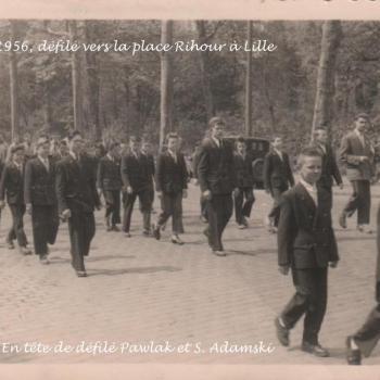 1956 défilé du 3 mai à Lille