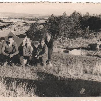 1959 - Camping au col de Somo-Sierra