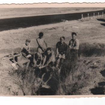 1959 - La lessive au col de Somo-Sierra