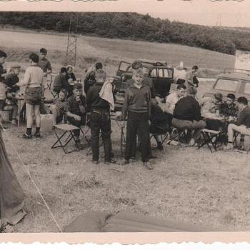 1959 - Montélimar, en route pour l'Espagne
