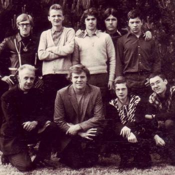 Internat Saint Casimir Classe de 3° 1970 (Photo R. Sarzynski)