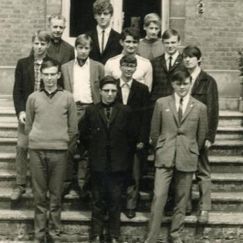 Classe de 3°B, abbé Robay, 196?-6?, (photo X)