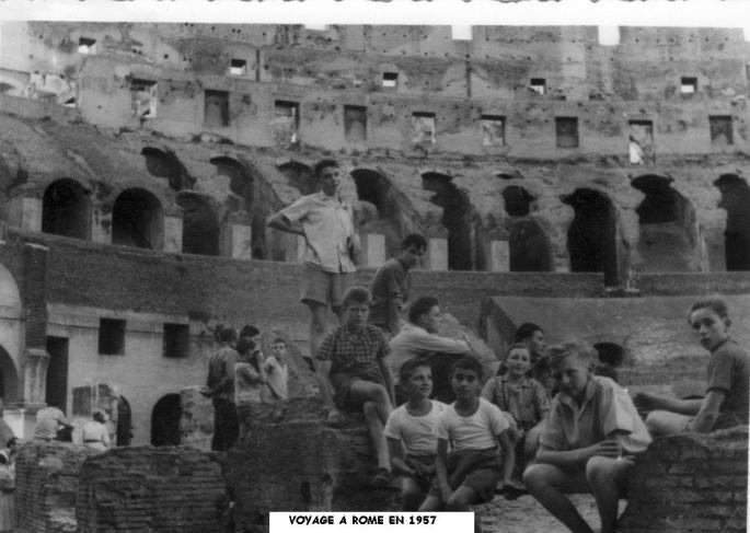 Casimiriens dans le Colisée