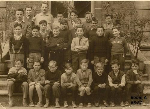 Classe de 6°B 1956-1957 (Photo Czeslaw Horala)