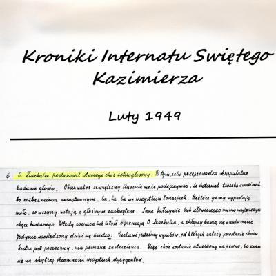 Kroniki 01/1949