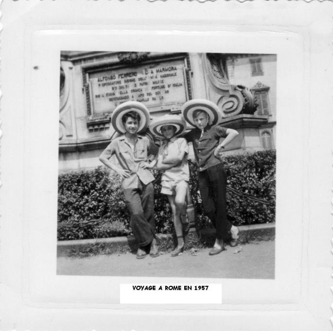 1° étape Turin, Johnny – Lensois - Popaul