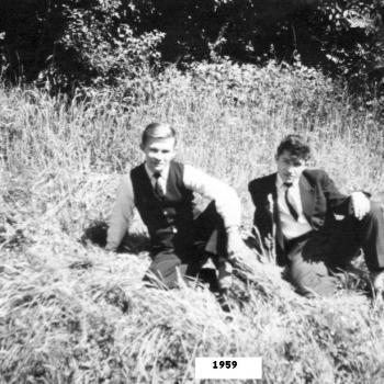 DANS LE PARC EN MAI 1959 (photo Jean Lesniak)