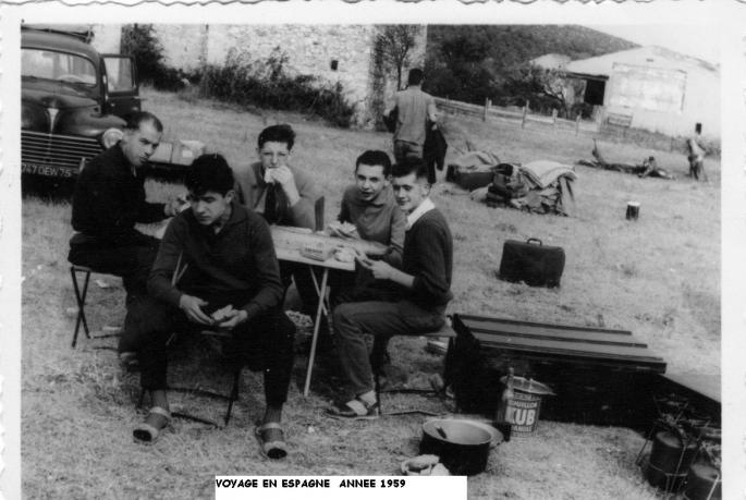 VOYAGE EN ESPAGNE EN 1959