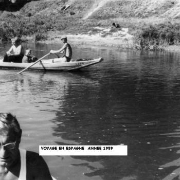 1° ETAPE VERS L'ESPAGNE – AOUT 1959