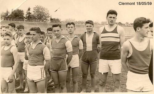 Athlétisme 1959 Championnat de France, Photo Czeslaw Horala