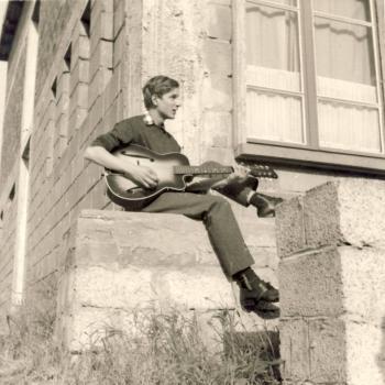 Bernard Dudkiewicz,  juin 1965 avec l'Internat  Stella-Plage