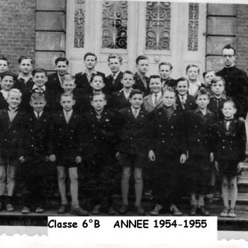 Classe 6° B (1954-55) J. Lesniak - Copie