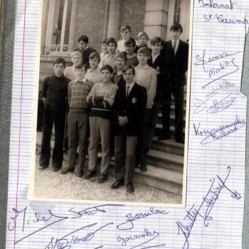 Classe de 3B  1971 (Photo Bednarek)