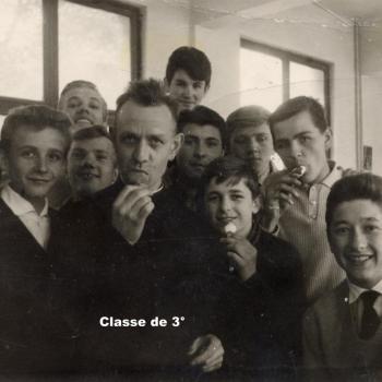 Classe de 3°, abbé Robay