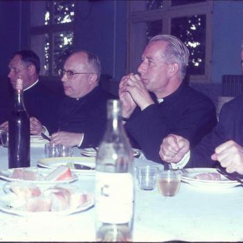 de droite R.P. Muller, Lewicki, Repka, Pakula (Photo JSK)