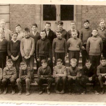 Classe de  5°B 1961-1962, Hubert Vergeot, (Photo Léon Brocki.)