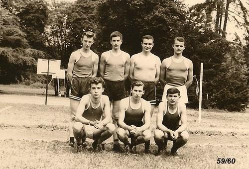 Equipe de Basket cadet 1959-1960? Photo Czeslaw Horala