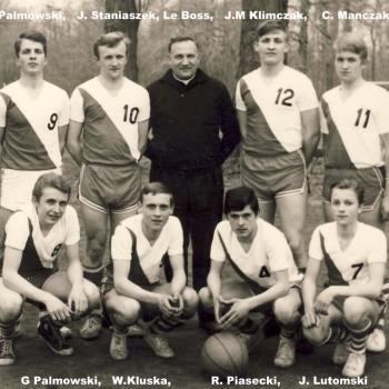 Equipe de Basket cadet 1965 photo C Lukasiewicz