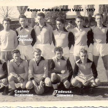 Equipe cadet de St Vaast