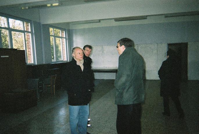 2006 visite du Studium