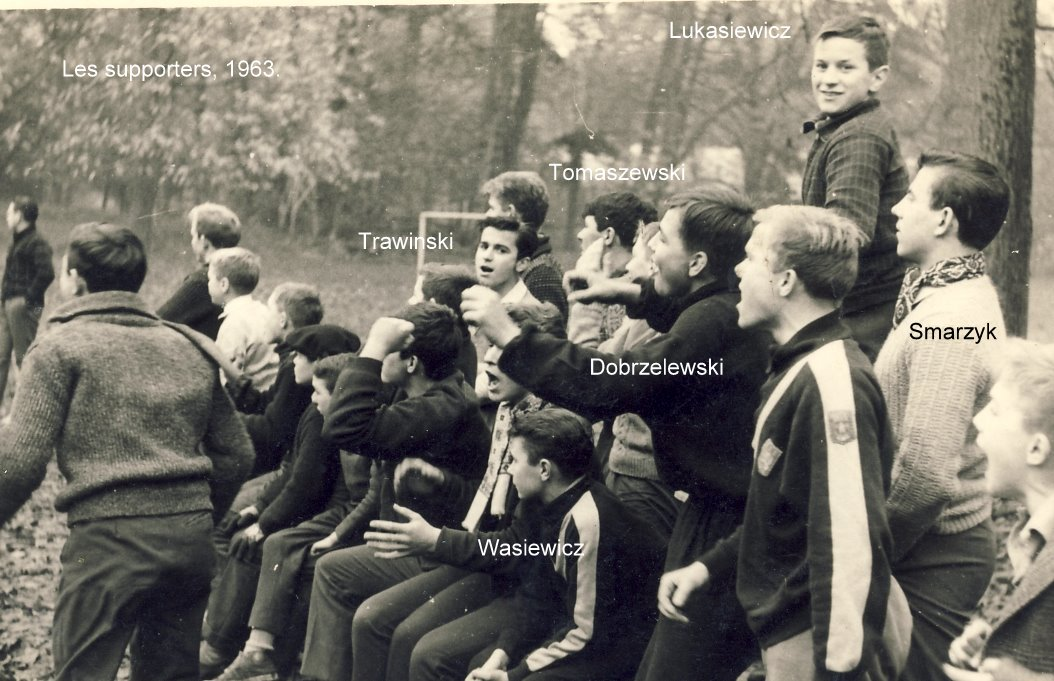 Foot, Supporters 1963 (Phot o C. Lukasiewicz)