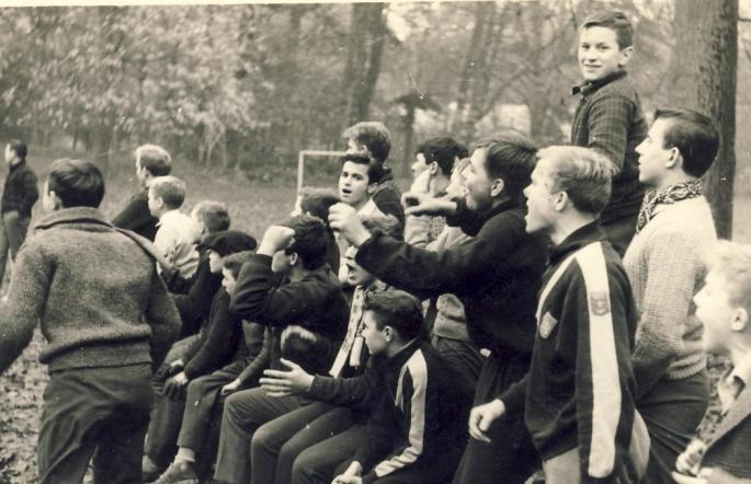 1963. Les supporters, Internat Saint Casimir Vaudricourt