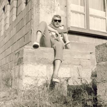 Georges Palmowski juin 1965 avec l'Internat  Stella-Plage