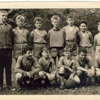Equipe minimes 1963(PhotoRené Zalisz) Internat Saint Casimir