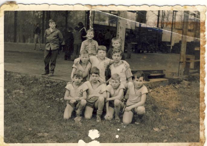 Equipe de basket benjamins 1962 Photo René Zalisz
