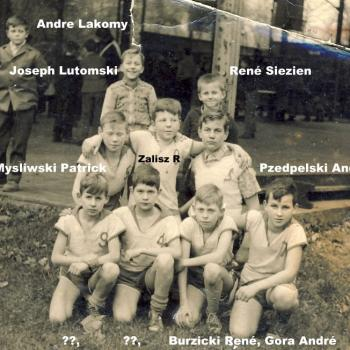 1962 Equipe de basket benjamin