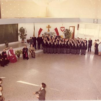 Internat Saint Casimir Vaudricourt 1966 (Photo René Zalisz)