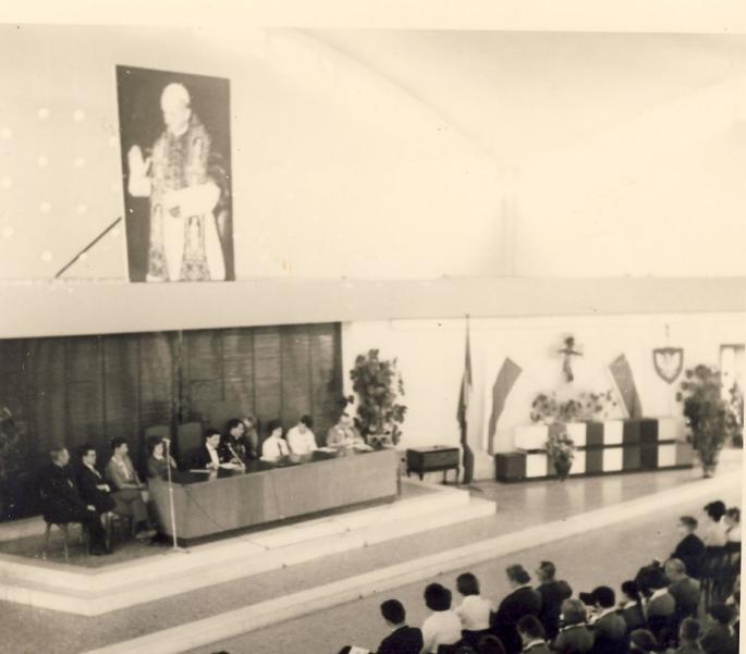 Internat Saint Casimir Vaudricourt 1966 (Photo René Zalisz)