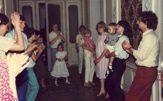 Chez les Beblik Aout 1981