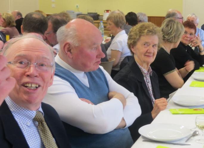C'était en 2010 à la réunion des Anciens...