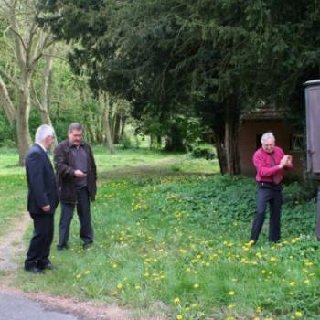 La pompe à essence le l'Internat Saint Casimir 2010 (Ph Jean Skarbek)