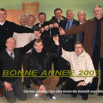 INTERNAT Photo de groupe VOEUX 2007