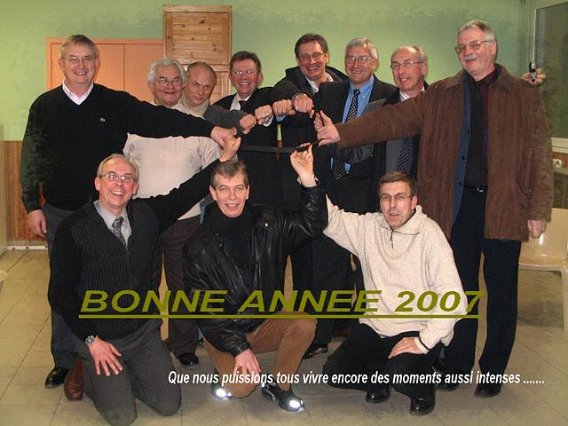 INTERNAT Photo de groupe VOEUX 2007