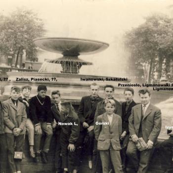 Juillet 1964 Londres Trafalgar Square