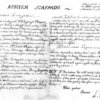 Kuryer Chopin 1