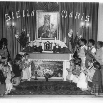 La chapelle Stella Plage début des années 60
