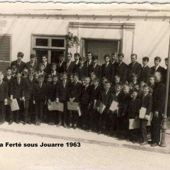 La Ferté 1963 Anniversaire R.P. Stolarek (Photo Claude Lukasiewicz)