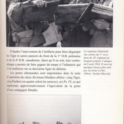 La Massue, Les soldats polonais dans la Bataille de Normandie.