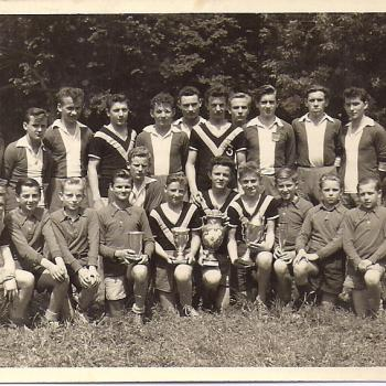 Les coupes de Foot 1954 (?) (photo Glowacz)